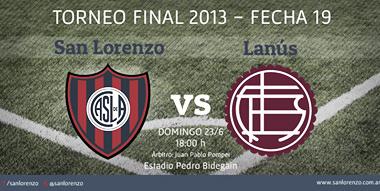 San Lorenzo - Lanús: La Previa