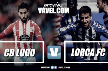 Previa CD Lugo - Lorca FC // Fotomontaje Vavel