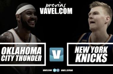 Thunder - Knicks: el inicio de una alternativa a Warriors en Oklahoma