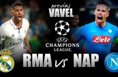 No Bernabéu, Real Madrid e Napoli iniciam duelo por vaga nas quartas da UCL
