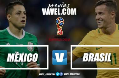 Previa México - Brasil   Foto: VAVEL