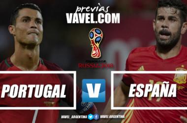 Portugal y España se disputarán seguramente el primer puesto del Grupo B | Foto: VAVEL