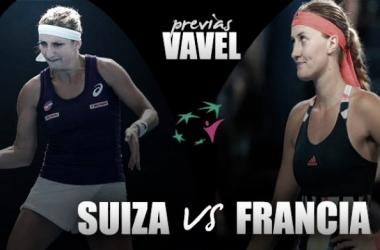 Fed Cup 2017. Suiza - Francia: las suizas buscan venganza