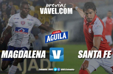 Previa Unión Magdalena vs Independiente Santa Fe: Por la suma de puntos importantes