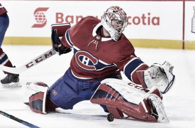 Se espera que Price pueda iniciar la temporada regular con los Canadiens | Foto: NHL.com