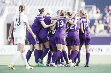 The Pride celebrating during the 2016 season (Orlando Pride twitter, @ORLPride)