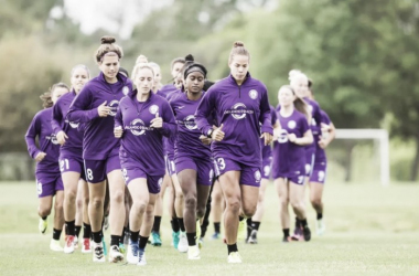 The Orlando Pride during the 2017 pre-season training camp | Source: Orlando Pride