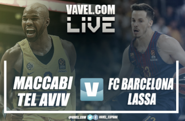 Euroliga en vivo: Maccabi FOX vs Barça Lassa en directo online (94-82)
