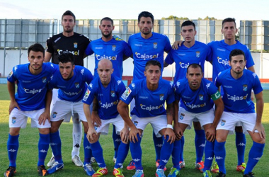 Primer once de David Vidal con el Xerez CD / Foto: Xerez CD