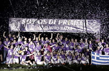 Celebración del ascenso a Primera División en el Estadio José Zorrilla / Foto: realvalladolid.es