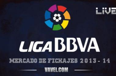 Resultado mercado de fichajes de fútbol de la Liga BBVA 2013-2014