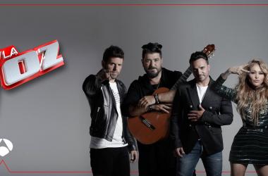 Cartel promocional de La Voz en Antena 3. Fuente: Atresmedia