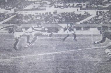 River 3 - Deportivo Morón 0, en el Monumental. (Foto: web)