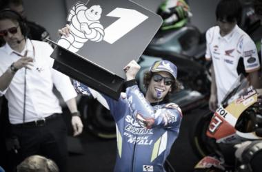 Alex Rins en el GP de Gran Bretaña. Fuente: MotoGP