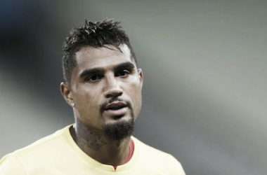 Kevin-Prince Boateng has been dismissed from Ghana's World Cup squad (Picture: Photograph: Guardian/Paulo Duarte/AP)