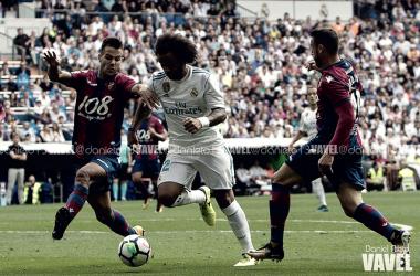 Marcelo durante el partido de la temporada pasada | Foto: Daniel Nieto (VAVEL)