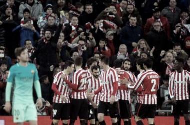 Bilbao bate Barça e abre pequena vantagem nas oitavas da Copa do Rei