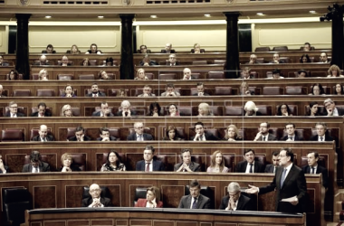 Bancada del Partido Popular en el Congreso de los Diputados. Foto de: Agencia EFE