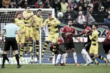 Resumen Borussia Dortmund vs Hannover en Bundeslida 2018
