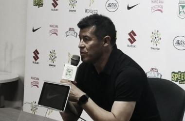 DT. Jorge Almirón. Foto: Atlético Nacional