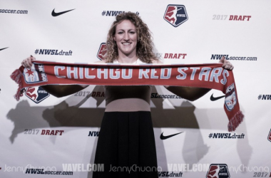 Morgan Proffitt was one of three selections for the Chicago Red Stars | Source: Jenny Chuang - VAVEL USA