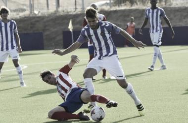 Imagen del partido contra el CCD Cerceda(Foto: Real Valladolid)