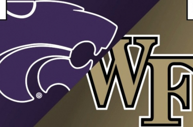 The Kansas State and Wake Forest logos: Photo/Rant Sports website