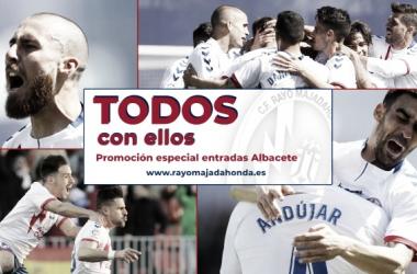 Cartel promocional del partido. Foto: Rayo Majadahonda