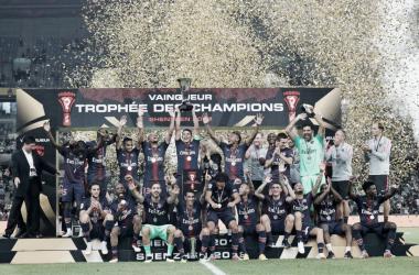 Sin muchos problemas, el PSG goleo al Monaco: Foto: @PSG_inside
