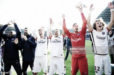 O PSG sagrou-se campeão nesta tarde de domingo