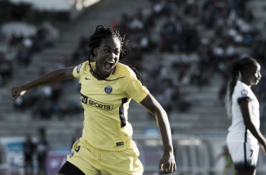 Kadidiatou Diani was in sparkling form for PSG against Marseille | Source: psg.fr