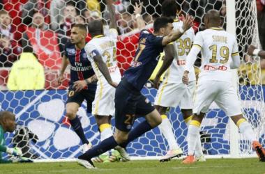 Javier Pastore a ouvert le score pour Paris (PSG.fr)