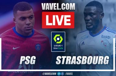 Goals and Highlights: Paris Saint-Germain vs Strasbourg (4-2) in Ligue 1