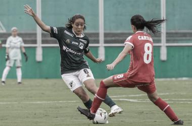 """Carolina Pineda: """"Hay que mejorar en hacer goles y que no nos hagan"""""""
