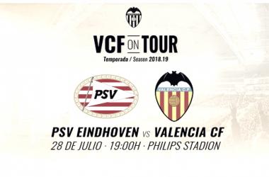 El próximo 28 de julio a las 19:00 tendrá lugar la tercera prueba de la pretemporada. Fuente: Valencia CF.
