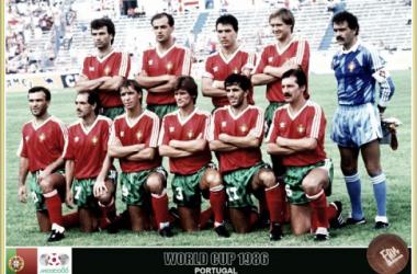 Portugal no Mundial: México 1986