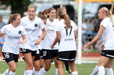 The Portland Thorns have seen a remarkable amount of roster overhaulthis offseason. How will they respond in next week's NWSL draft? (Photocredit Steve Milne/USA TODAY)
