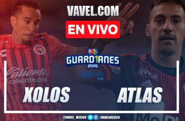 Xolos 3-1 Atlas: goles y resumen Liga MX 2020