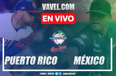 Resumen y carreras México 4-2 Puerto Rico en Juego 2 Serie del Caribe 2020