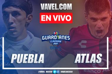 Goles y Resumen del Puebla 0-1 Atlas, Jornada 11 Liga MX 2021