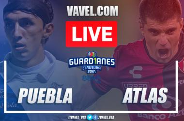 Goals andHighlightsof Puebla 0-1 Atlas on Liga MX 2021