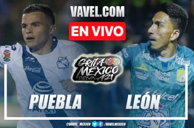 Goles y resumen del Puebla 0-1 León en Liga MX