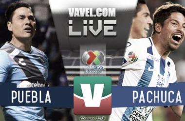 Resultado y goles del Puebla 2-6 Pachuca de la Liga MX 2018