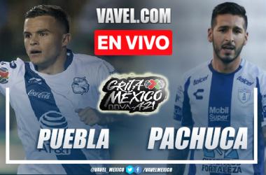 Goles y resumen del Puebla 1-2 Pachuca en Liga MX