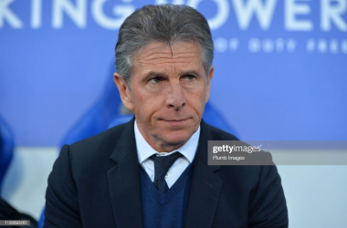 Claude Puel has been relieved of his duties at the King Power Stadium | Photo: Getty/ Plumb Images