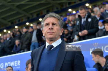 Claude Puel against Manchester City | Photo: Getty/ Plumb Images