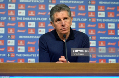 Claude Puel gives his thoughts ahead of Leicester City's FA Cup clash against Newport County | Photo: Getty/ Plumb Imgaes