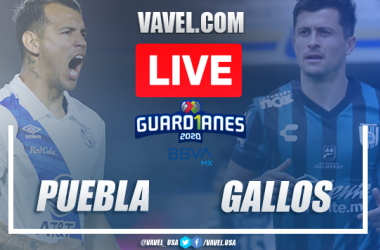 Highlights and goals of the Puebla 3-3 Querétaro on Guard1anes 2020