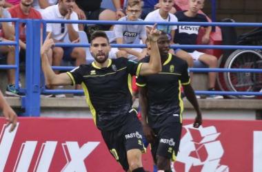 Antonio Puertas, con confianza y gol