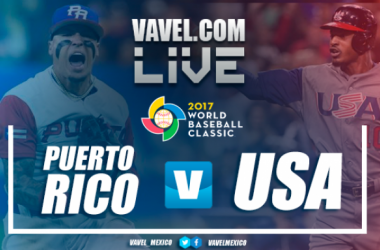 Resultado y videos del Estados Unidos 8-0 Puerto Rico en Clásico Mundial de Beisbol 2017